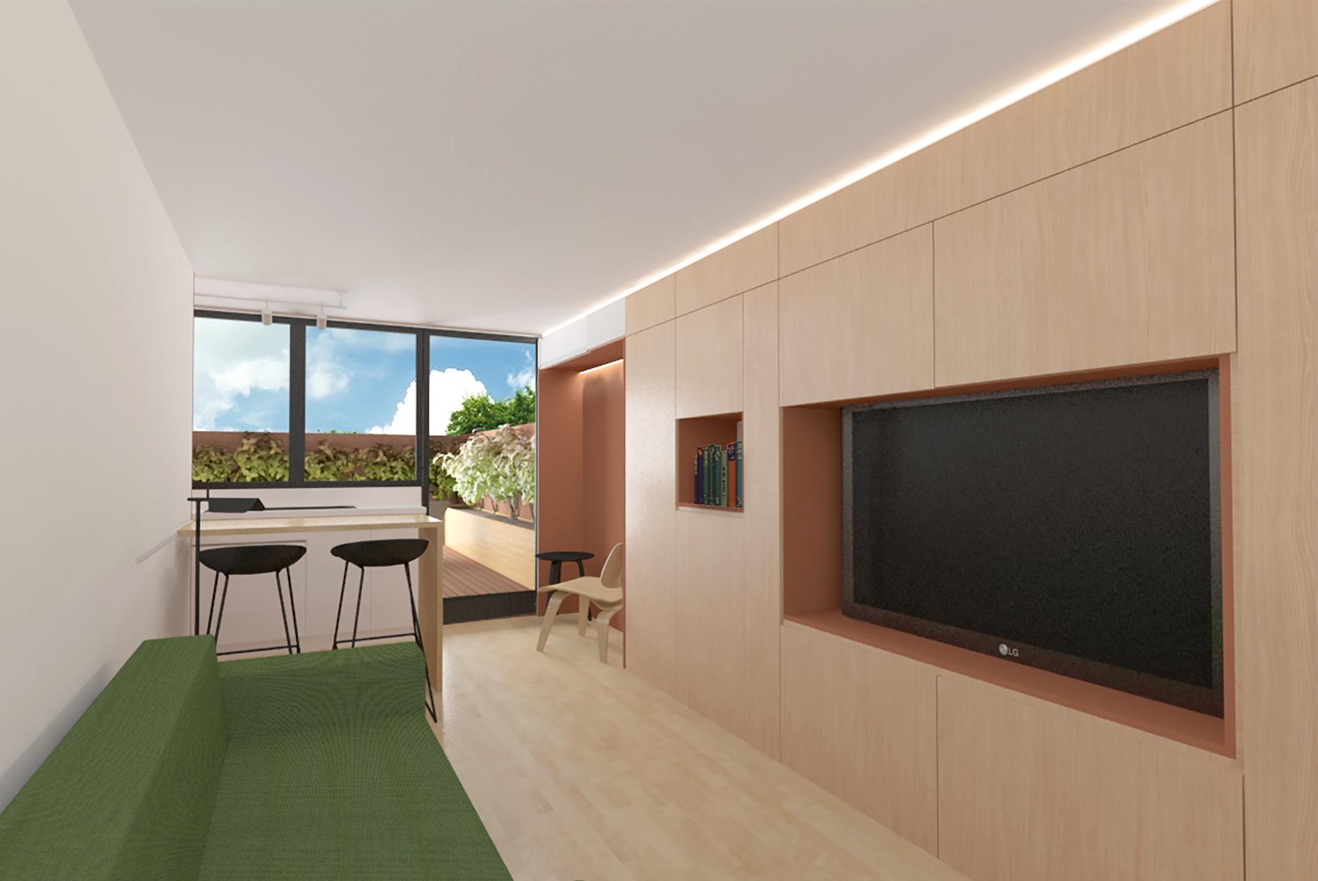 Mini Apartment Design Elegant Julie Nabucet Designs